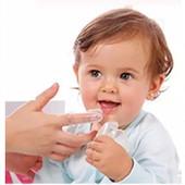 Первая зубная щетка массажер на палец мамы
