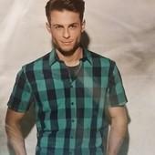 Тениска в клетку Crane(германия) размер Л и ХЛ