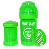 Бутылочка антиколиковая 180 мл. Twistshake 78004 Швеция зеленый 12124849