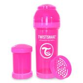 Бутылочка антиколиковая 260 мл. Twistshake 78007 Швеция розовый 12124852