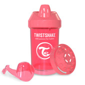 Чашка-непроливайка 300 мл. Twistshake 78064 Швеция персиковый 12124897