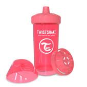 Детская чашка-непроливайка 360 мл. Twistshake 78074 Швеция персиковый 12124907