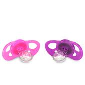 Ортодонтическая пустышка 6+ мес. (2 шт.) Twistshake 78088 Швеция розовый/фиолетовый 12124918