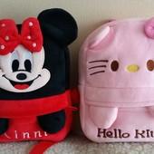 Милые детские рюкзаки, новые