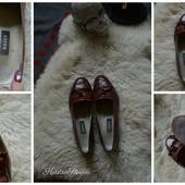 Кожаные туфли-лоферы от Bally р-р 40-41