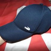 Новая стильная фирменная кепка Lacoste (Лакосте) 57-58