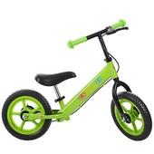 Детский беговел Profi  зеленый 12'' (M 3440B-4) с колесами Eva Foam
