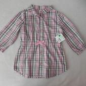 хлопковая рубашка на 5лет