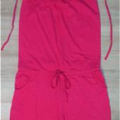 Комбинезон трикотажный розовый Esmara