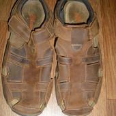 Мужские кожаные сандалии Mantaray Индия р. 42