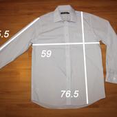 рубашка мужская р L, замеры на фото