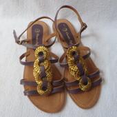 кожаные босоножки Индия 40