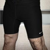 Спортивние оригинал дри фіт лосины-шорты для бега мужские черные nike.л-хл .
