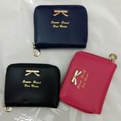 Женский кошелёк 3  цвета, новые