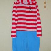 Флисовый слип, пижама, домашний костюм, размер L.
