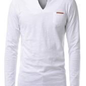 Легкая футболка с длинным рукавом.С,М,Л две расцветки  (2з
