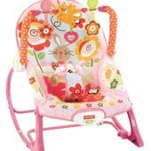 Fisher-Price кресло – качалка шезлонг  зайчик infant to toddler rocker bunny