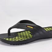 Литые мужские вьетнамки. Черные. 1312-2 размер 40