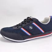 Текстильные кроссовки. Синие. 00725795 размеры 38,41