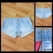 Фирменные джинсовые шорты H&M, размер 36\6