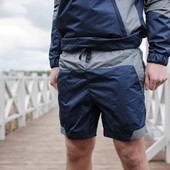 Шорты F&F derby navy/gray