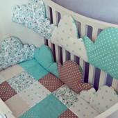 IngVart Облака постельный набор в овальную кровать