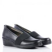 Удобные туфли 37 р с резинкой. Новые
