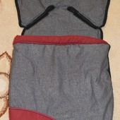 Спальный мешок, конверт, чехол на ножки в коляску Graco.