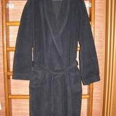 Халат флисовый, мужской, размер ХL, длинный,Marks&Spencer