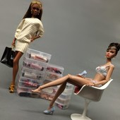Короб для хранения обуви кукол Barbie, Monster high, Ken и другие.