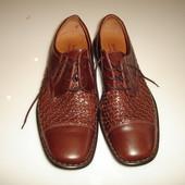 Кожаные туфли Josef Seibel, р 46, стелька 30,5 см очень легкие, дышвщие в идеале