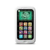 LeapFrog Развивающий интерактивный телефон белый chat and count smart phone, scout