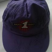 Кепка фиолетовая длинный козырек р 56-65 см