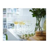 Отличные бокалы для шампанского 6шт Hederlig от Икеа ikea в наличии!
