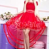 Шикарное вечернее платье 42-46р.мод.220  пять расцветок