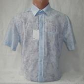 Распродажа! Мужская рубашка с коротким рукавом Nens, Турция