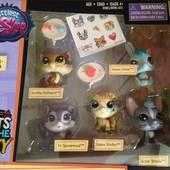 Littlest pet shop LPS 5 фигур в упаковке Оригинал!