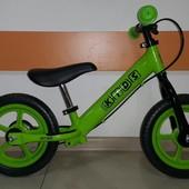 Беговел велобег Profi kids 12, беговел, велобіг, профи, кидс, для девочки, велосипед, без педалей