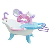 Наборы wader polesie для девочек, ванна для кукол, сервировочный столик, салон красоты