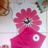 Літній комплект (футболки+шорти) 2-8 років, Турция