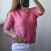 свитерок за завязках сзади ангора+шерсть