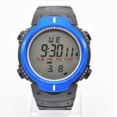Мужские спортивные часы с черным ремешком код 247