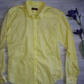 Zara легкая лимонная рубашка р Л Сток