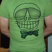 Стильная фирменная футболка бренд H&M.м-л