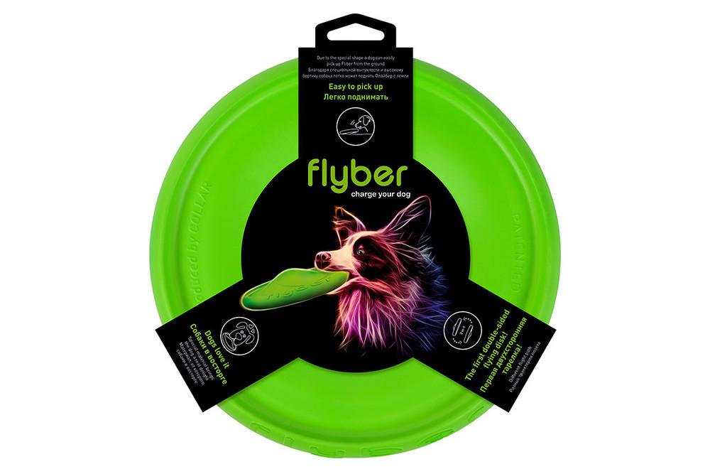 Флайбер (фрисби, летающая тарелка, flyber) - супер игрушка для собак фото №1