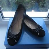 Комфортные замшевые туфли-мокасины Geox  Р.40