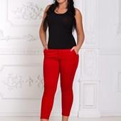 Размеры 44-48 Яркие стильные женские капри