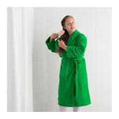 Отличный халат купальный зеленый L/XL ньюта от Икеа Замечательный выбор ikea в наличии!