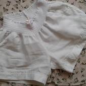 Белоснежные льняные шорты Jolie ( L )