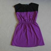 Фирменное модное комбинировоное платье из США